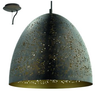 Hornbach taklampa Safi finns i två storlekar